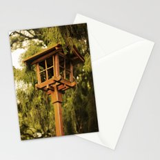 Wooden Lamp Stationery Cards