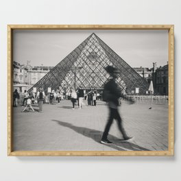 Louvre Blur Serving Tray