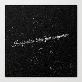 Imagination Canvas Print
