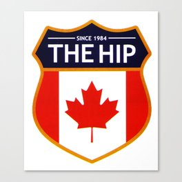 THE TRAGICALLY HIP SINCE 1984 THE HIP LOGO Canvas Print