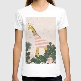Peeking Giraffe T-shirt