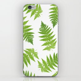 Fern seamless pattern. iPhone Skin