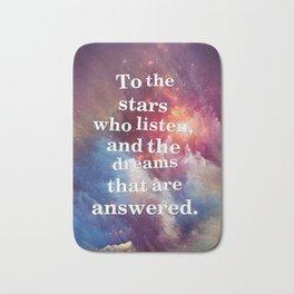 To The Stars Bath Mat