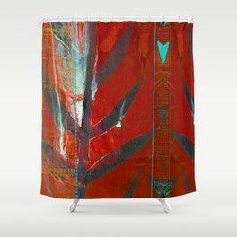 Tribal Flair Shower Curtain