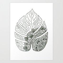 Tropical Serenity Art Print