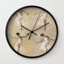 Ballet Girl Wall Clock