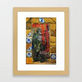 BS Framed Art Print