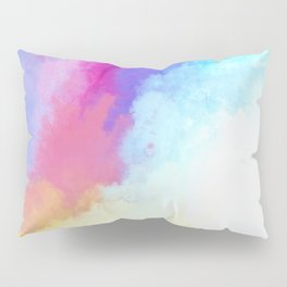 Abstract Fantasy Magical Clouds Painting Pillow Sham