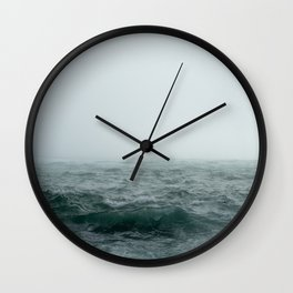 Choppy Seas Wall Clock