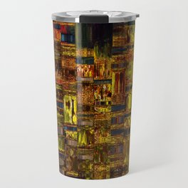 Colors of the City Travel Mug