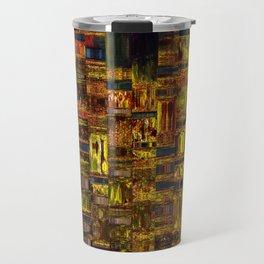 Colors of the City Travel Mug