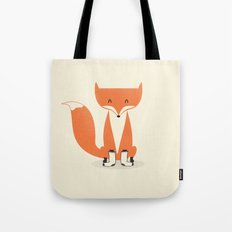 A Fox With Socks Tote Bag