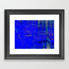Ocean Mars Framed Art Print