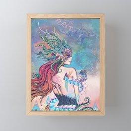 The Last Mermaid Framed Mini Art Print