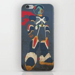 Megaman X iPhone Skin