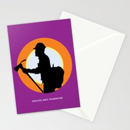 Creative Acre Foundation (CAF) Support poster Stationery Cards