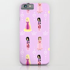 Princesses in Pink Slim Case iPhone 6s