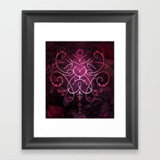 Sigil of Self Love and Self Care Framed Art Print
