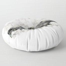 Rhino and Calf Floor Pillow