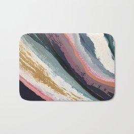 SURFS UP | Abstract acrylic art by Natalie Burnett Art Bath Mat