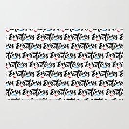 Emotions - Hand Lettering Design Rug
