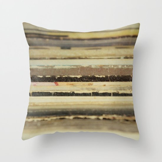 Oldies Are Goodies Throw Pillow