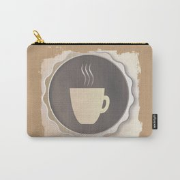 Coffee Background Carry-All Pouch