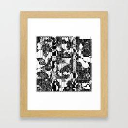 A Linear Landscape Framed Art Print
