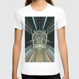 Meditating Tiger T-shirt