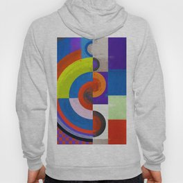 Abstract Composition 458 Hoody