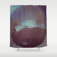 lunar Shower Curtains featuring Lunar Light by Jane Lacey Smith