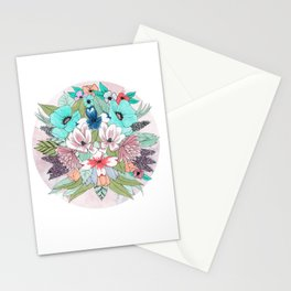 Colourful Bouquet Stationery Cards