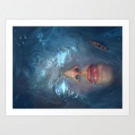 Giant Siren Art Print