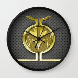 White Ranger Vest Wall Clock