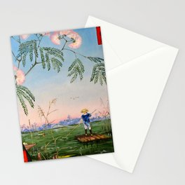 Flowering Acacia Stationery Cards