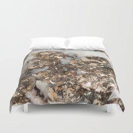 Pyrite and Quartz Duvet Cover