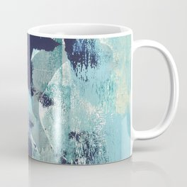 012.4 a bright contemporary abstract piece in teal and lavender by Alyssa Hamilton Art  Coffee Mug