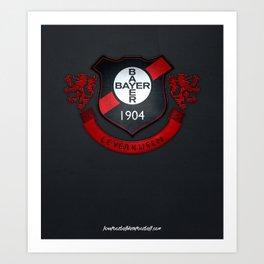 Bayer Leverkusen Print Art Print