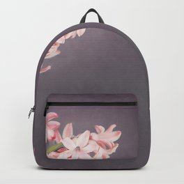 Pink Hyacinths Backpack