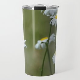 Cascade Daisy Flowers Blooming Travel Mug
