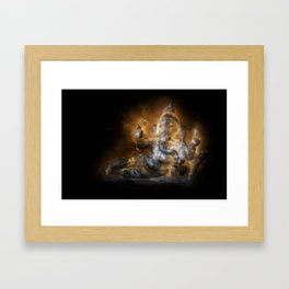 Reclining Ganesha Framed Art Print