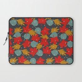 Falling red leaves Laptop Sleeve