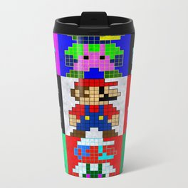 8 Bit Trip Metal Travel Mug