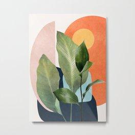 Nature Geometry VII Metal Print