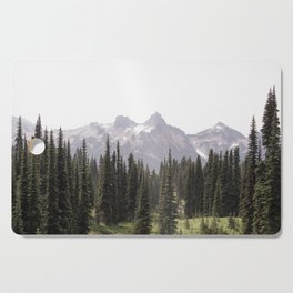 Mountain Wilderness - Nature Photography Cutting Board