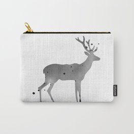 Deer. Watercolor illustration on white. Carry-All Pouch