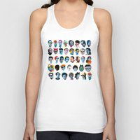 talking heads Tank Tops featuring Heads by Alvaro Tapia Hidalgo