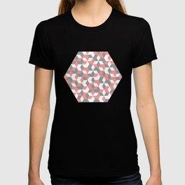 Hexagon(pink) #1 T-shirt