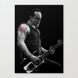 Michael Poulsen  Canvas Print
