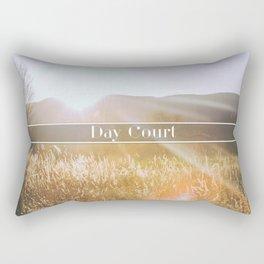 Day Court Rectangular Pillow